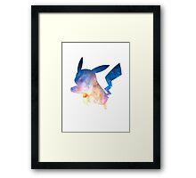 Space Pikachu Framed Print