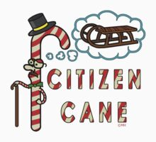 Citizen Cane Christmas Candy Cane Pun Kids Clothes