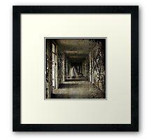 Roaming the Halls Framed Print