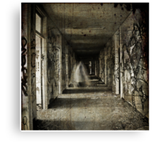 Roaming the Halls Canvas Print