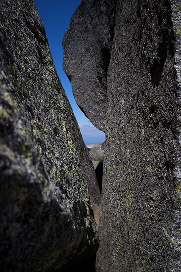 Between a Rock and a Hard Place by madcowgirl