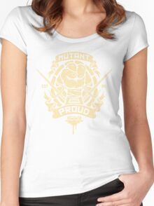 Mutant and Proud! (Raph) Women's Fitted Scoop T-Shirt