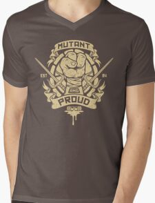 Mutant and Proud! (Raph) Mens V-Neck T-Shirt