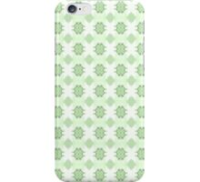 Noughts & Crosses - Spring Green iPhone Case/Skin
