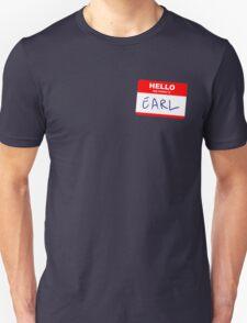 Hi, my name is Earl T-Shirt
