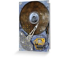 Canned memories Greeting Card