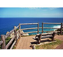 Byron Seat Photographic Print