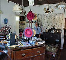 Antique shop proprietor by Graham Mewburn