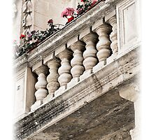 A Lover's Balcony by PhotoWorks