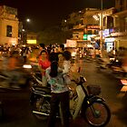 Hanoi at Night by Lesley Williamson