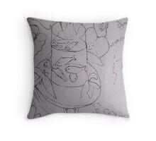 The Goldfish Bowl ( After Matisse ) Throw Pillow