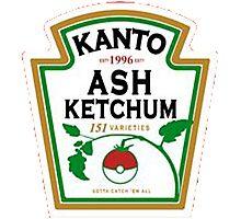 ash ketchum Photographic Print