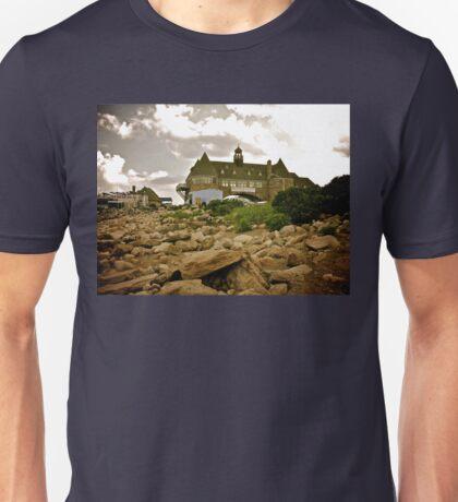 Narragansett Towers - Ocean Road - Rhode Island Unisex T-Shirt