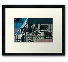 Planes of Reflection Framed Print