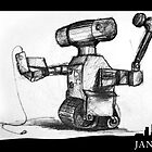 January 6th - Robot Obsolesence by 365 Notepads -  School of Faces