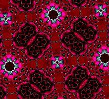 random pattern red by ZierNor