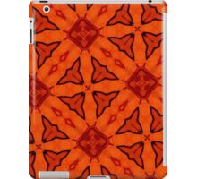 red abstract modern pattern iPad Case/Skin