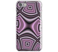 Purple abstract modern nice pattern iPhone Case/Skin