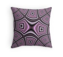Purple abstract modern nice pattern Throw Pillow