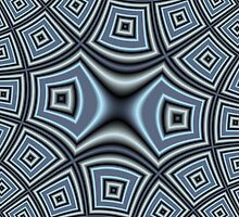 Blue trendy pattern by ZierNor