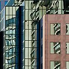 Reflections on Buildings at Harbourfront, Toronto by Gerda Grice