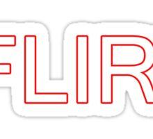 /Flirt Sticker