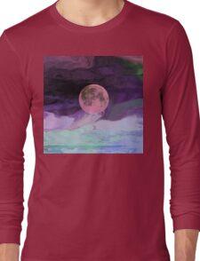 Moon River-  Art + Products Design  Long Sleeve T-Shirt