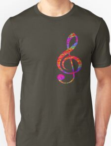 Psychedelic Music Symbol T-Shirt