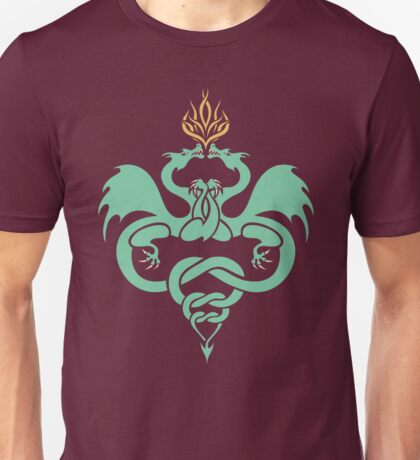 Dragons Entwined Unisex T-Shirt