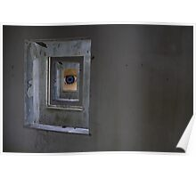 Abandoned Window Poster