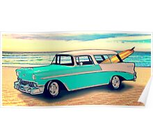 56 Nomad by the Sea in the Morning Poster