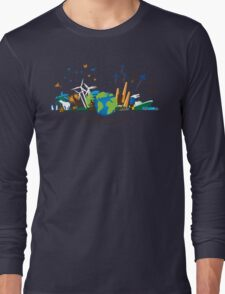 Which Planet Are You On? - version 3 Long Sleeve T-Shirt
