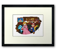 How I met your Princess Framed Print