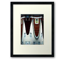 Above March Hare's House Framed Print