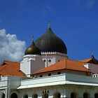 Bright Sky - Malaysian Mosque by j0sh