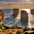 Degrees of Separation  - Twelve Apostles, Great Ocean Road - The HDR Experience by Philip Johnson