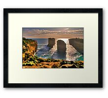Degrees of Separation #4 - Twelve Apostles, Great Ocean Road - The HDR Experience Framed Print