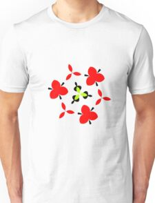 Trendy abstract modern pattern Unisex T-Shirt