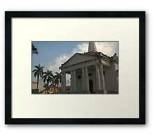 St George Chuch Penang Framed Print