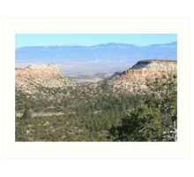 On the Road to Bandelier * Art Print