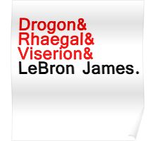 LeBron ''the dragon'' Poster