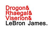 LeBron ''the dragon'' Photographic Print