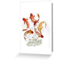 Coi pond Greeting Card