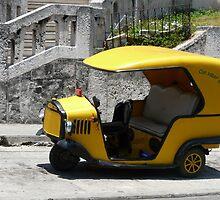 Coco taxi, Havana, Cuba by apricotargante