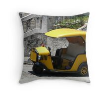 Coco taxi, Havana, Cuba Throw Pillow