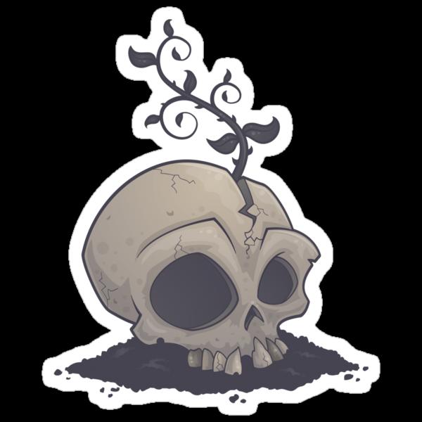 Skull Garden by fizzgig