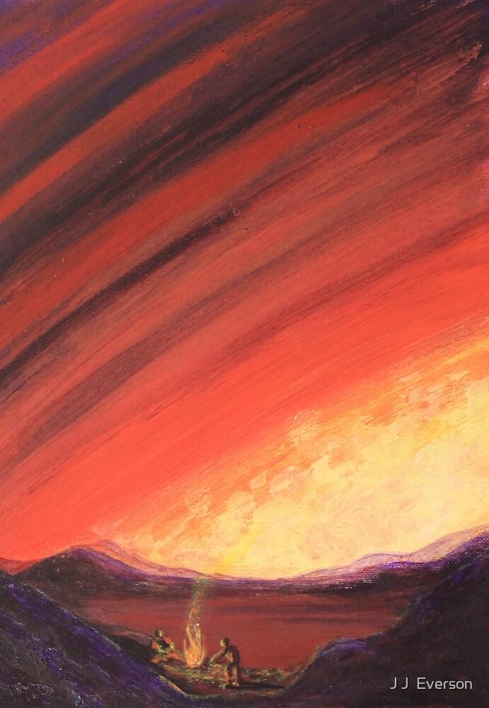 Desert Fire by J J  Everson