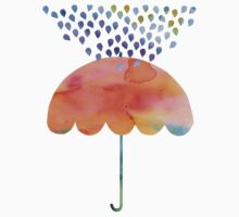 Rainbow Umbrella Kids Clothes