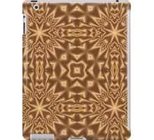 Brown modern abstract pattern iPad Case/Skin