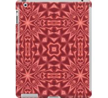 Red modern abstract pattern iPad Case/Skin